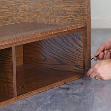 secure the headboard to the platforms with connector bolts
