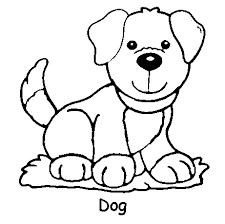 dog animal coloring pages