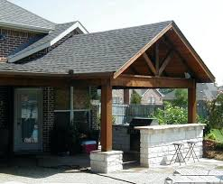 Idea Covered Outdoor Patio Or Covered Patio Designs Plans 14 Outdoor