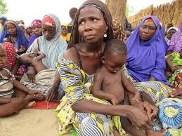 Image result for images of IDP camps in Nigeria