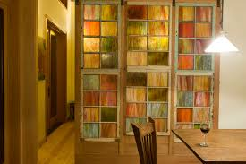 stained glass sliding closet doors designs