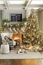 Image Farmhouse Fabulous Living Room Design Inspiration Establish Exciting Big Christmas Tree In Front Of Delightful Fireplace With Room Interior Design Ideas 25 Stunning Ways To Decorate Your Living Room For Christmas Feed
