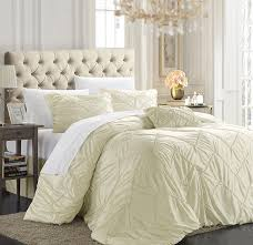 com chic home isabella 4 piece duvet cover set king beige home kitchen