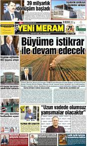 21 Kasım 2020 Yeni Meram Gazetesi - Yeni Meram