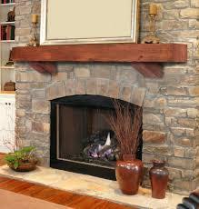 fireplace mantel metal corbels rustic heritage autumn finish heart pine shelf brackets fireplace mantel