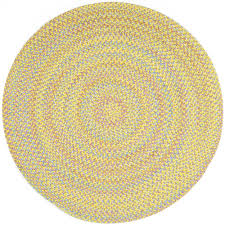 rhody rug play date yellow multi 8 ft x 8 ft round indoor
