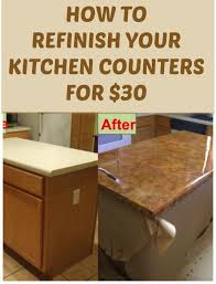 kitchen countertop ideas best 10 refinish countertops ideas on granite