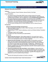 Cyber Security Resume Sample 69 Images Network Security Analyst