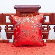 Classic Jacquard Silk Brocade Cushion Cover 50x50cm 40x60cm Rectangle  Decorative Chinese Pillow Case Cushion Cover  - AliExpress