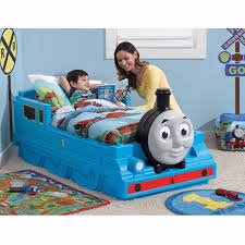 Toddler Train Bed Thomas The Tank Engine Crib Storage Kids Bedroom ...