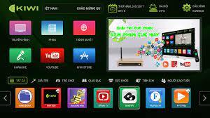Tivi Box Android Kiwi S1 Pro Ram 2G - Tặng chuột bay KM800