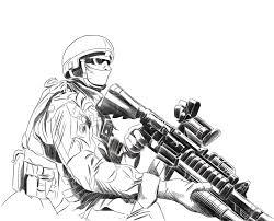 World War 1 Coloring Pages Military Soldier Chronicles Network