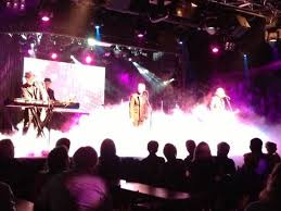 Harmonizing Picture Of Australian Bee Gees At Excalibur