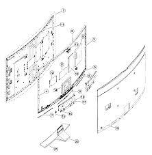 Samsung Model Un78hu9000fxza Ts01 Lcd Television Genuine Parts