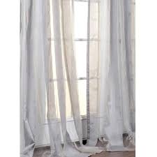 96 white sheer curtains exclusive fabrics light grey striped inch curtain panel pertaining to comely long
