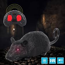 Children <b>Tricky</b> Toys Infrared Induction <b>Electric Remote Control</b> Mouse