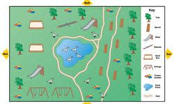 simple zoo map for kids.  Simple Park Map And Simple Zoo For Kids U