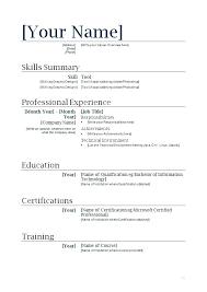 Free Resume Builder Software Download Free Resume Builder Download