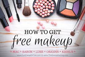 how to get free makeup from all your favorite brands mac lush sabon
