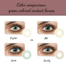 Crystal Light Blue Contacts Hidrocor Colored Contacts Comparison