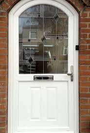 white upvc curved door ruislip