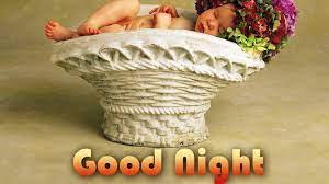 Baby Sleeping Inside White Basket HD ...