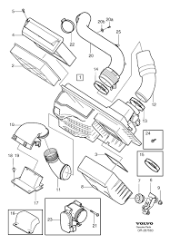 wrg 4272 2013 volvo s60t5 engine diagram the throttle body is 23 in this image part number 30711552