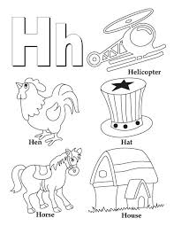 Small Picture 28 best Letter H images on Pinterest Letter Coloring pages and