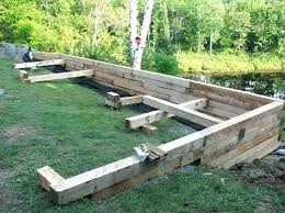 retaining wall ideas wooden retaining wall best wood retaining wall ideas on sleeper wall wood retaining retaining wall ideas wood