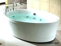 freestanding jetted tub free standing jetted bathtub jetted soaking free standing jetted tubs