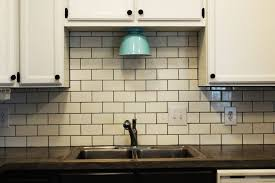 Tile Backsplash Installation Custom Installing Subway Tile Backsplash In Kitchen Signedbyange