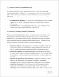 Annotated Bibliography Apa 6th Annotated Bibliography Apa Style