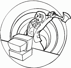 Computers Coloring Pages