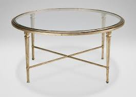 best of gold leaf coffee table and leaf frame glass round coffee table