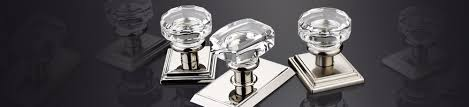 modern glass door knobs contemporary glass sparkling faceted glass