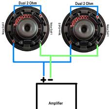 subwoofer wiring diagram 4 ohm wiring diagram subwoofer wiring diagrams