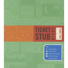 Ticket Stub Diary Revised Walmart Com