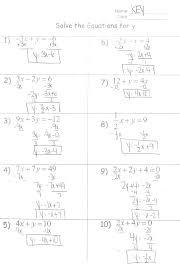 quadratic equation worksheet precommunity printables worksheets