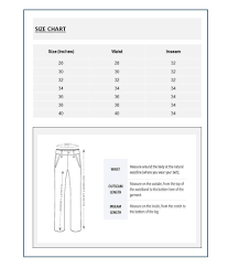 Being Human Size Chart India Being Human Black Solid Chinos
