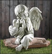 angel garden. Memorial Angel Garden Figurine N