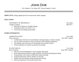 What Should Be Included In A Resume 3 Sample
