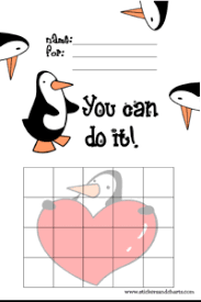 Free Printable Behavior Charts Cute Penguins Fun In First