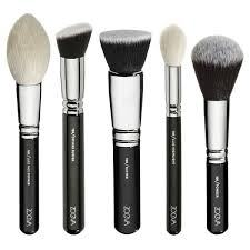 amazon zoeva 25 pennelli makeup brushes professional set blending premium artist zoe bag arts crafts sewing