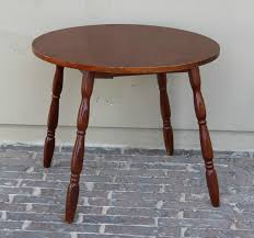 wooden accent end table enjoy this accent table to display a vintage phone or special picture next to a sofa or chair it is a very versatile piece