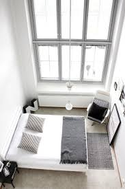 bedroom minimalist. Minimalist Bedroom - White Walls With Accents Of Black Help To Create Calm In A
