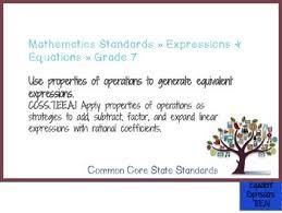 Math Common Core Standards Grade 7 Full Size Binder Flip Chart