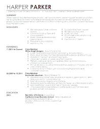 Restaurant Waiter Resumes Waitress Example Resume Sample Resume Waiter Restaurant Waiter