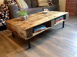 Reclaimed wood Pallet table pallet table coffee table by Fretwells