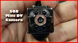 SQ8 <b>Mini</b> DV Camera 1080P Full <b>HD</b> Car <b>DVR</b> Review with Samples