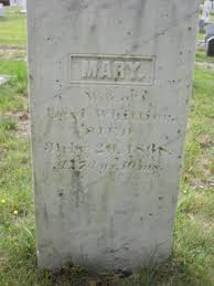 """Mary """"Polly"""" Gordon Whittier (Unknown-1868) - Find A Grave Memorial"""